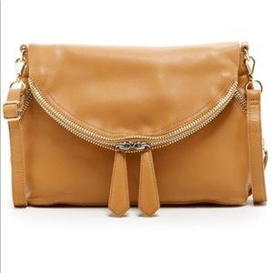 Linea Pelle Alex Scotch Leather Messenger Bag